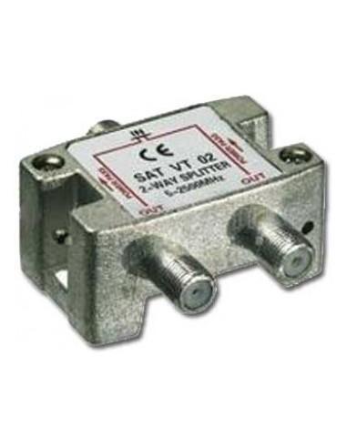 SAT Verteiler,5-2450MHz,8-fach digital tauglich,15.0dB Daempfung  - 1