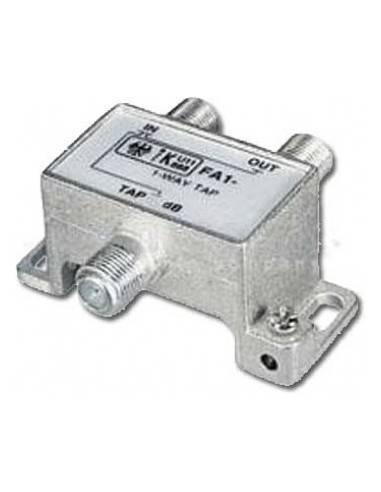 SAT BK Abzweiger,5-1000MHz,2-fach 1xF-3xF Kupplung,10.0dB Daempfung  - 1