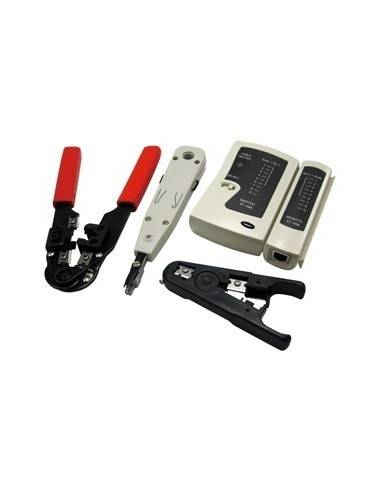 LOGILINK WZ0012 Toolset for Networking (4 pcs.), with bag LogiLink - 1