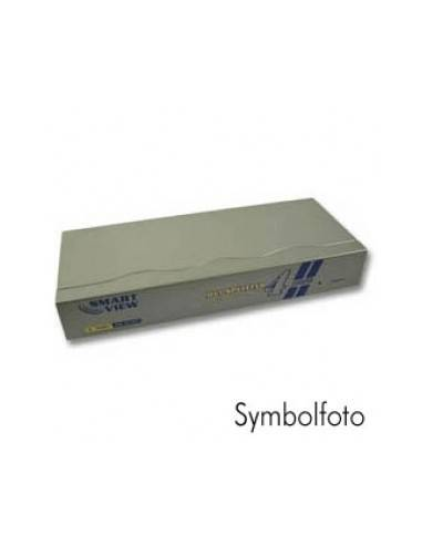 DVI Monitor Splitter, 165MHz, for 4 DVI-I monitors, 5x DVI-I female (24+5), 1600x1200dpi  - 1