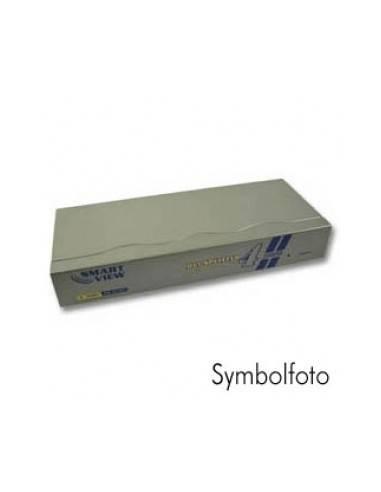 DVI Сплитер за монитори, 165MHz, за 4 DVI-I монитора, 3x DVI-I женски (24+5), 1600x1200dpi  - 1
