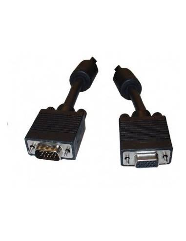 SVGA Extension Cable, Ferrite, DBHD15 male - DBHD15 female  - 1