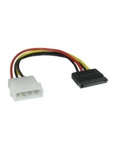 "SATA Power Cable, SATA Power 15-pin male - 5 1/4"" male - 0.15 m  - 1"