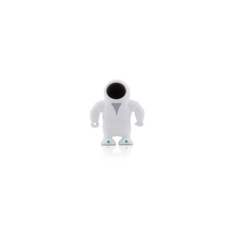 Bone Spaceman Driver, 4 GB USB memory stick, Spaceman figure, white  - 1