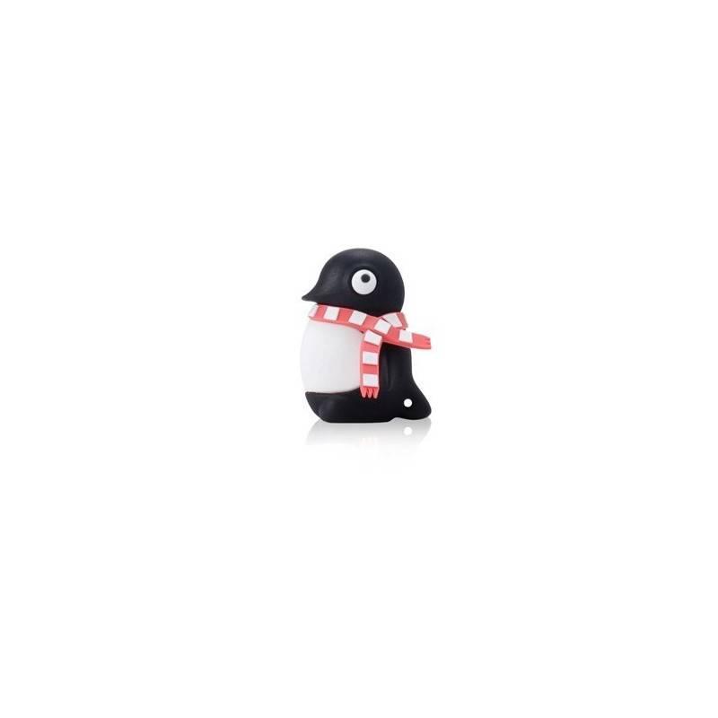 Bone Penguin Driver, 4 GB USB memory stick, figure penguin  - 1