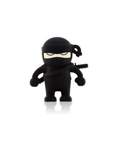 Bone Deer Driver, 4 GB USB memory stick, ninja figure, black  - 1