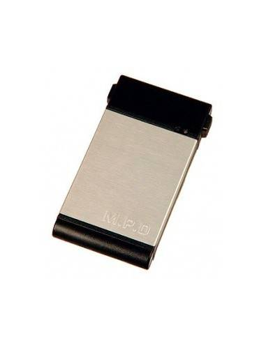 SSI HDD Case, USB2.0, IDE silver(metal),Li-ion or ext. Power  - 1