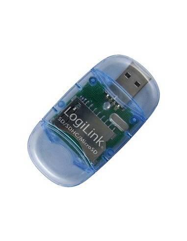 LOGILINK CR0015 Mini Cardreader USB2 stick, External, MicroSD / SD LogiLink - 1