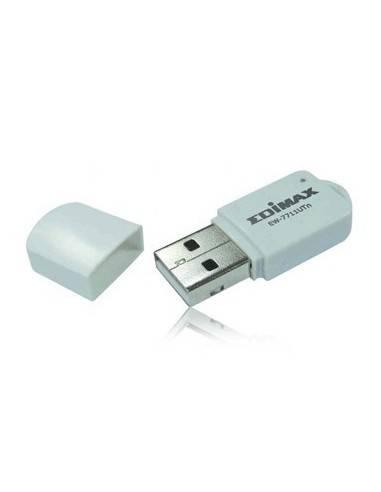 EDIMAX EW-7711UTn WLAN USB dongle, IEEE802.11b/g/n 150MB, compact  - 1