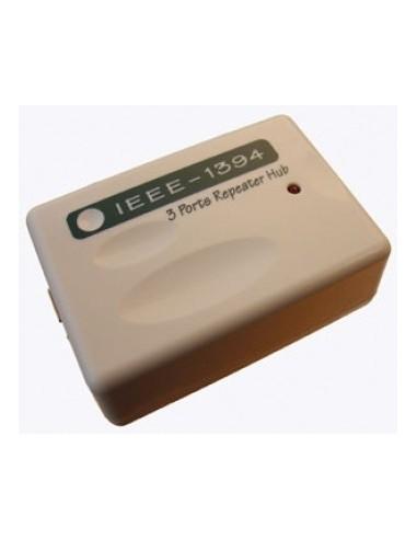 IEEE1394 Active Hub-Repeater 3 Ports, PNP, 6-pin sockets  - 1