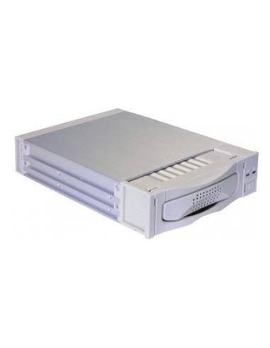 VIPOWER Mobile-Rack UMDA 100/133 Alu,with 2xcooler,grey  - 1