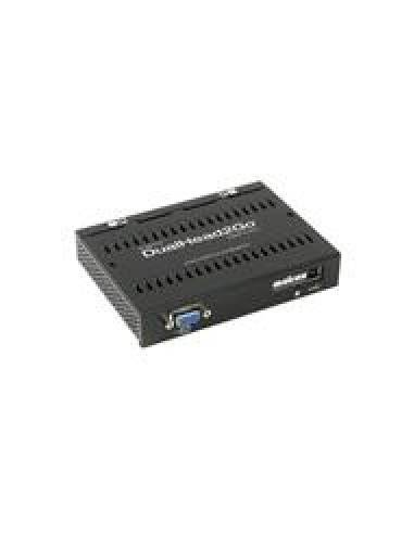 MATROX Monitor-Splitter in 1x VGA / out 2x DVI (SingleLink), Dual  Head 2 Go Digital Edition  - 1