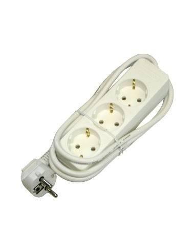 Power distribution, 3x main sockets, VDE certified - 1.4m  - 1