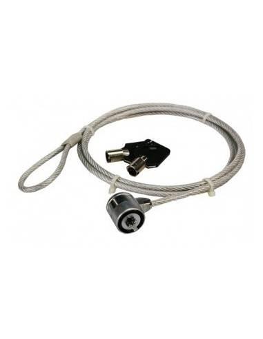 Notebook Security KeyLock Steel Cable, Key Lock, 1,5 m, LOGILINK NBS003 LogiLink - 1
