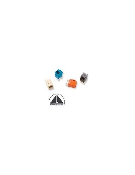AMP, SL 110 Connect JACK, UNSHIELDED, CAT 6, BEIGE COMMSCOPE - 3