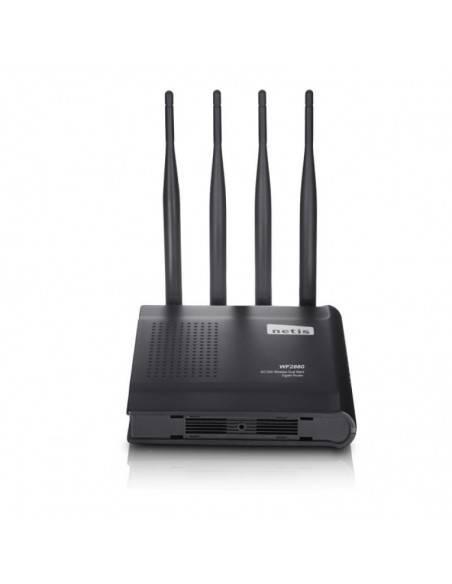 Безжичен рутер 802.11AC 1200Mbps 4 x фиксирани антени + USB 2.0 порт NETIS SYSTEMS - 5
