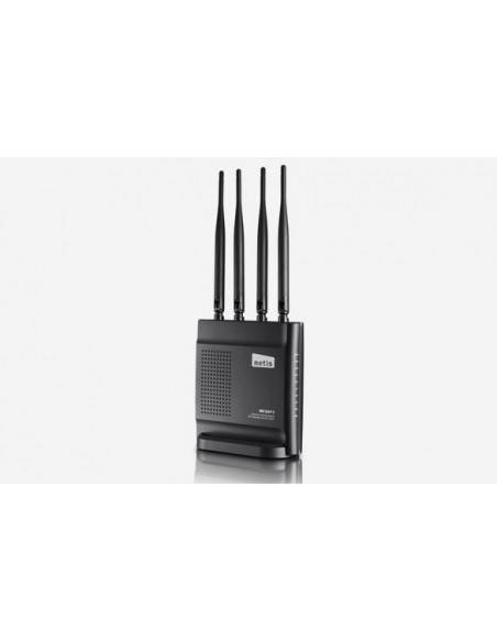 Wireless N Dual Band Router 600Mbps with 4 x detachable antennas NETIS SYSTEMS - 2