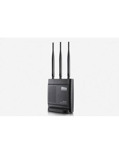 300Mbps 2T2R Wireless N Router 3 x detachable antennas NETIS SYSTEMS - 1