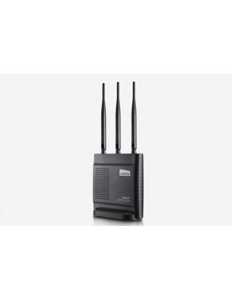 Безжичен N рутер 300Mbps 2T2R с 3 x фиксирани антени NETIS SYSTEMS - 1
