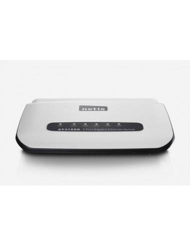 5 Port 10/100/1000M Gigabit Ethernet Switch NETIS SYSTEMS - 4