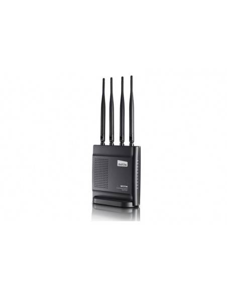 Wireless AC Router 802.11AC 1200Mbps with 4 x fixed antennas NETIS SYSTEMS - 2