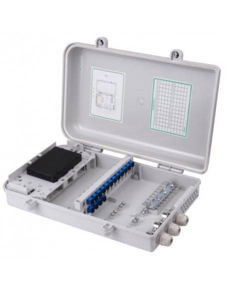 FTTH box for 24 SC Simplex adapters MegaF - 1