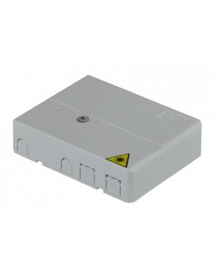 Fiber optic wall outlet for 2 SC simplex adapters MegaF - 4