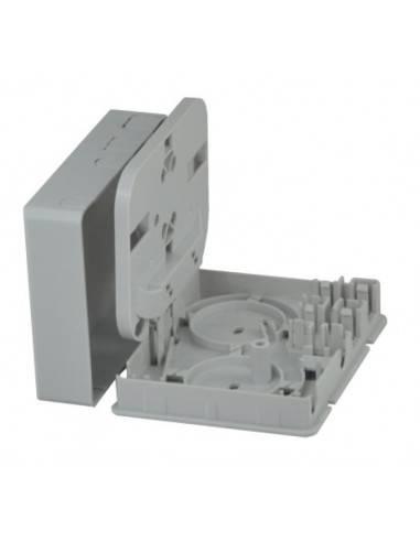 Стенна розетка за 2 SC симплексни адаптера MegaF - 1