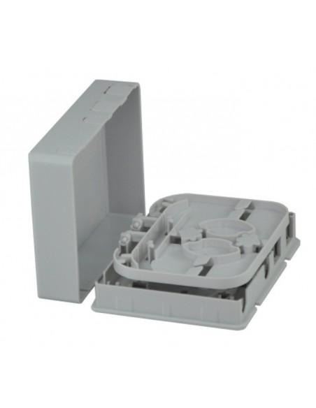 Стенна розетка за 2 SC симплексни адаптера MegaF - 2