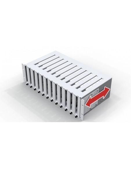 Оптичен пач панел 3U за монтаж на 144 SC симплексни адаптера MICOS Telecom Division - 2