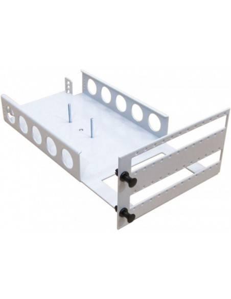 Оптичен пач панел 3U за монтаж на 144 SC симплексни адаптера MICOS Telecom Division - 3
