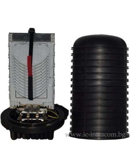 Оптична муфа за максимум 332 влакна, 16 порта MegaF - 4