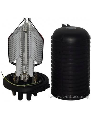 Оптична муфа за максимум 332 влакна, 16 порта MegaF - 1