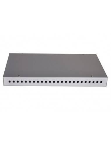Оптичен панел за 24 ST или FC адаптера, 1U MegaF - 4