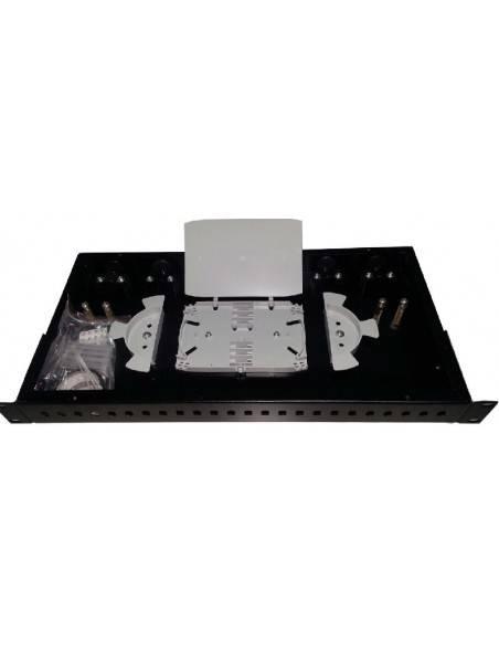 Оптичен панел за 24 ST или FC адаптера, 1U MegaF - 2