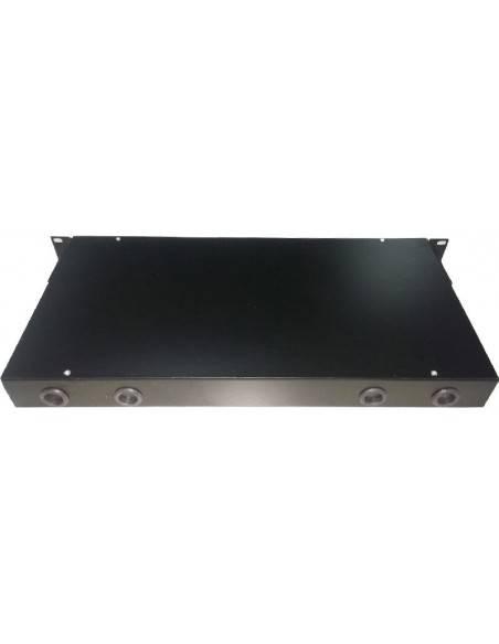 Оптичен панел за 24 ST или FC адаптера, 1U MegaF - 3