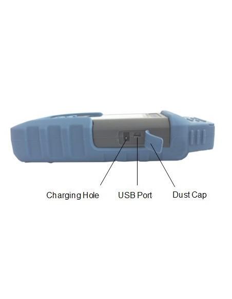 Уред за имерване на PON мрежи, 1310-1490-1550 nm черно бял дисплей MegaF - 3