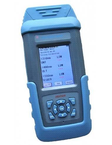 Уред за имерване на PON мрежи, 1310-1490-1550 nm цветен дисплей MegaF - 3