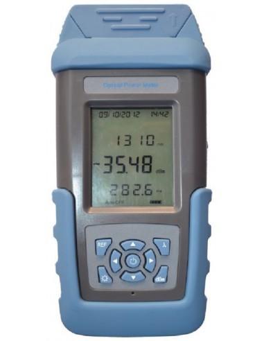 Fiber optic power meter с включен Visual Fault Locator от -50 до +26 dBm, FC-ST-SC конектори MegaF - 3