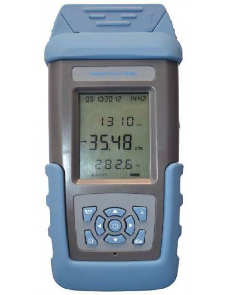 Optical Power Meter (Include VFL + Memory 1000 groups, USB Port, Frenquecy identifiation from -50 upto +26 dBm, FC-ST-SC connect