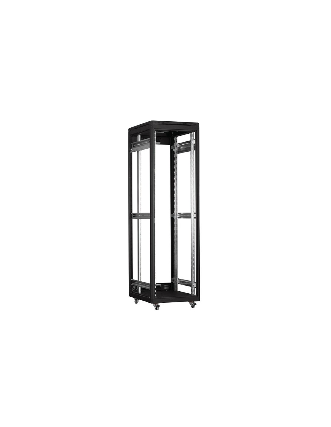 Free standing network rack cabinet 19