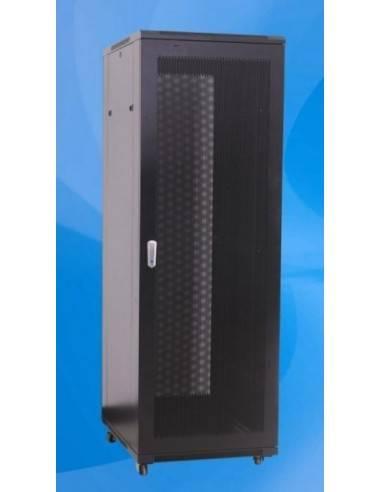 Сървърен шкаф 32U 600x900 мм, RAL7035, перфорирани предна и задна врата, MegaS MegaS / ZPAS - 2