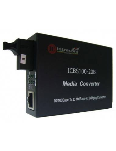 Media converter 10/100M Single mode...