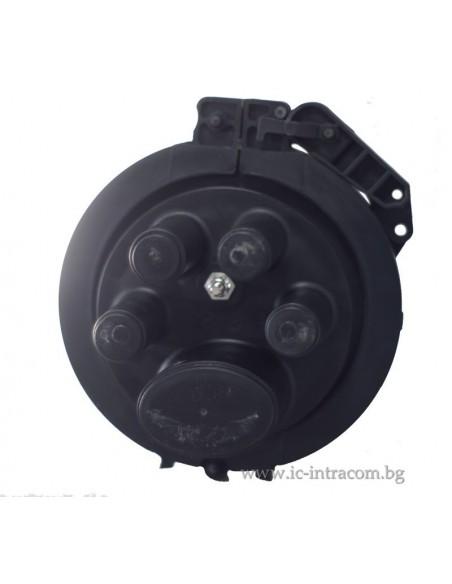 Оптична муфа А4 за 144 влакна с S-2 касета