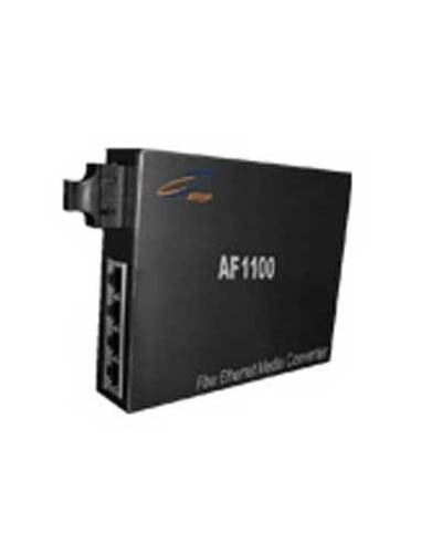 Media converter 10/100 Single fiber, Single mode with 4 elect. ports, Atop Atop technology - Китай - 1