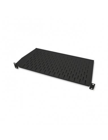 "19"" 1U Shelf, Depth 250 mm, black"