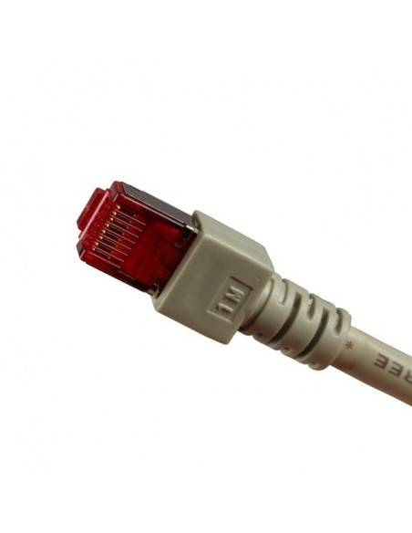 Пач кордри категоря 6 S/FTP PiMF екранирани сиви конектори