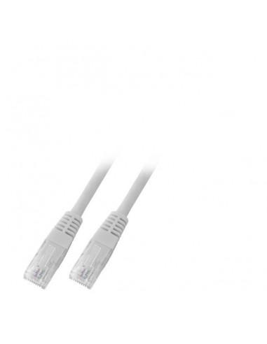 Patch cords category 6 U/UTP unshielded grey