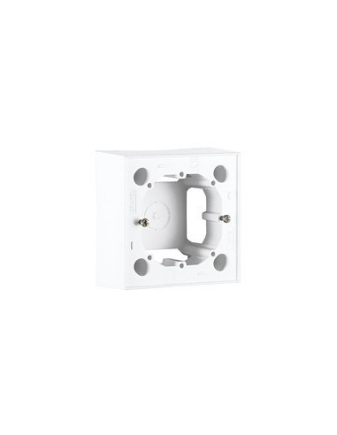 Surface mount box for 45x45 mm modules, white