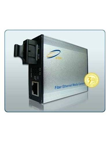 Media converter, Single mode, Single fiber, 10/100 Mb, 1550/1310 nm, 80 km, Atop Atop technology - Китай - 1